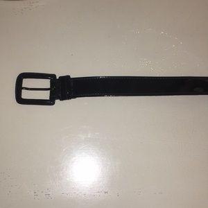 Black Yves Saint Laurent Belt